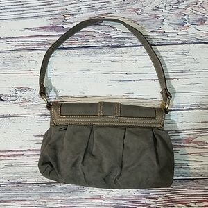 unidentified Bags - Suede Gray Purse